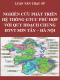Luận văn thạc sỹ kỹ thuật cơ sở hạ tầng – Nghiên cứu phát triển hệ thống giao thông công cộng phù hợp với quy hoạch chung đô thị vệ tinh Sơn Tây – Hà Nội