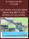 Quy hoạch chi tiết xây dựng cải tạo, chỉnh trang hai bên tuyến đường Lê Văn Lương, tỷ lệ 1/500 tại Quận Thanh Xuân, Quận Cầu Giấy, Hà Nội