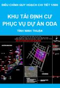 Điều chỉnh quy hoạch chi tiết tỷ lệ 1/500 Khu tái định cư phục vụ dự án ODA phường Phước Mỹ - tỉnh Ninh Thuận
