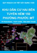 Quy hoạch chi tiết xây dựng tỷ lệ 1/500 Khu dân cư hai bên tuyến hẻm 150 phường Phước Mỹ - thành phố Phan Rang - Tháp Chàm - tỉnh Ninh Thuận