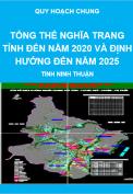 Quy hoạch tổng thể nghĩa trang toàn tỉnh đến năm 2020 và định hướng đến năm 2025 - tỉnh Ninh Thuận