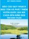 Báo cáo quy hoạch bảo tồn và phát triển vườn quốc gia Núi Chúa đến năm 2020 - Quy hoạch chung tỉnh Ninh Thuận