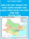 Báo cáo quy hoạch các vùng nông nghiệp ứng dụng công nghệ cao đến năm 2020 - Quy hoạch chung tỉnh Ninh Thuận