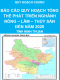 Báo cáo quy hoạch tổng thể phát triển nghành nông - lâm - thủy sản đến năm 2020 - Quy hoạch chung tỉnh Ninh Thuận