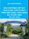 Báo cáo tổng hợp quy hoạch bảo tồn và phát triển bền vững Vườn Quốc gia Phước Bình đến năm 2020 - Quy hoạch chung tỉnh Ninh Thuận