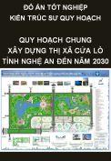 Đồ án tốt nghiệp kiến trúc sư quy hoạch – Quy hoạch chung xây dựng thị xã Cửa Lò – Tỉnh Nghệ An đến năm 2030