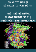 Đồ án tốt nghiệp kỹ thuật hạ tầng đô thị – Thiết kế hệ thống thoát nước đô thị Phố Nối, tỉnh Hưng Yên
