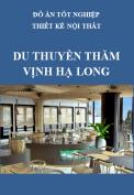 Đồ án tốt nghiệp thiết kế nội thất – Du thuyền thăm Vịnh Hạ Long