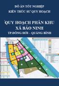 Đồ án tốt nghiệp kiến trúc sư quy hoạch – Quy hoạch phân khu phía Nam xã Bảo Ninh, thành phố Đồng Hới, tỉnh Quảng Bình