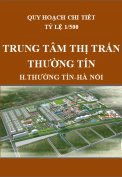 Quy hoạch chi tiết Trung tâm thị trấn Thường Tín, huyện Thường Tín, thành phố Hà Nội, tỷ lệ 1/500