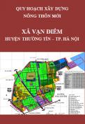 Quy hoạch xây dựng nông thôn mới xã Vạn Điểm – Huyện Thường Tín