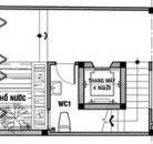 Nhà lô 5x20m, hướng Tây