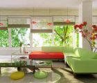 Cách trang trí nhà thêm tươi mát cho mùa hè