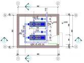 Bản vẽ thiết kế trạm bơm cấp nước công trình