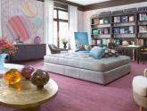Décor nhà đẹp với màu tím