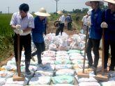 Tiết kiệm chi phí với công nghệ làm đường bằng túi đất