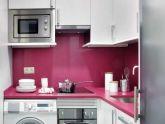 Làm đẹp nhà 45mét vuông với tông màu hồng