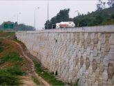 Bản vẽ thiết kế Tường chắn đá hộc ta luy âm và dương