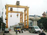 Bắt đầu lắp dầm tuyến đường sắt Cát Linh – Hà Đông