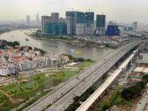 Cầu đường sắt đô thị bắc qua sông Sài Gòn