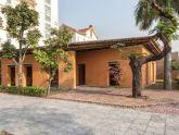 Nhà đất mái tre nổi bật giữa khu phố ở Quảng Ninh