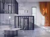 Nhà hàng theo phong cách trại giam