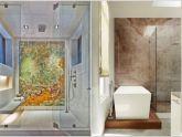 Những ý tưởng trang trí tường phòng tắm đầy ấn tượng