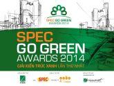 Spec Go Green Awards 2014 - Giải kiến trúc xanh lần thứ nhất